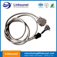 D - SUB 15 PIN Male Female Soldering Wiring Harness LIYY 14 - 0.25 PG11 Customized Manufactures
