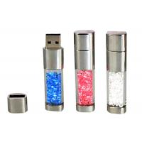 Quality Fashion Crystal Acrylic 8GB USB Flash Drive 2.0 to 3.0 Filled With Crystals for sale