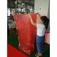 Biodegradable Heavy Duty Clear Plastic Bags Red Color Offset Printing Manufactures