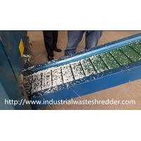 Steel Blade Cardboard Box Shredder Continuous High Speed Shear For Waste Paper Manufactures
