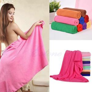 70*140cm Absorbent Microfiber Bath Beach Towel Drying Washcloth Swimwear Shower Portable Manufactures