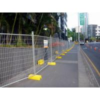 Temporary Fencing Panel Clamp Base Temp Construction Galvanised Temp fence Panel Manufactures