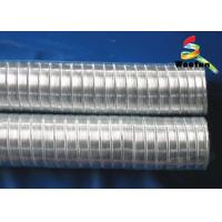 Quality Silvery Flexible Air Conditioner Flexible Duct Stretchable For Air Conditioner Installation for sale