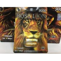 China Boss Lion 9000 Penis Enlargement Capsules herbal Male Sexual Pill 24cards per box male Type For Stimulate Performance on sale