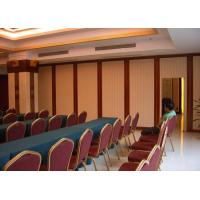 China Sound Proof Aluminum Movable Restaurant Partition Wall Sliding Open Style on sale