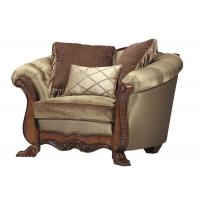 Commercial Popular English Style Sofas Wooden Frame Sofa High End Manufactures