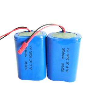 3600mAh 13.32Wh 3.7 V 18650 Lithium Ion Battery Manufactures