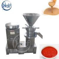 304 Stainless Steel Automatic Food Processing Machines Peanut Butter Making Equipment Manufactures