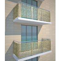 Metallic Color Aluminum Partition For Garden Fence/Privacy Fence/Metal Fence Manufactures