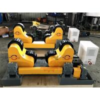10 Ton Driving Inverter Control Pipe Rotators For Welding , Long Life Time Manufactures