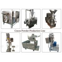 China Industrial Cocoa Powder Production Line , Nut Processing Machine 50 Kg/H Capacity on sale