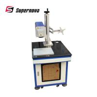 CE FDA Certifications One Year Warranty Free Sample Co2 LaserMarking Machine Manufactures