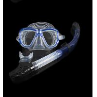 Quality Diving equipment silicone diving mask set of underwater ventilation pipeDiving mask + snorkel for sale
