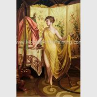 Classic Nude Female Oil Painting Reproduction Hand Painted People Oil Painting Manufactures