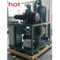Double Stage Vacuum Transformer Oil Purifier With CE Manufactures
