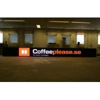 High Color Contrast 16dots * 16dots Waterproof Perimeter LED Advertising Boards Screen Manufactures