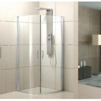 China Easy Use Bathroom Shower Enclosures Fine Finish With Round Sliding Door on sale
