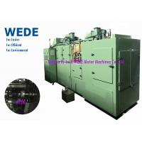 China Alternator Rotor Rolling Varnish Coating Machine With Shaft Ends Holding Fixture on sale