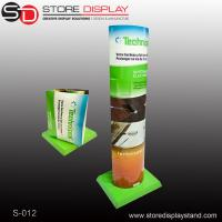 Quality pos display retail corrugated paper pop display standee for sale
