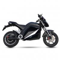 High Performance City Electric Motorcycle , Electric Motorcycle Scooter Black Color Manufactures