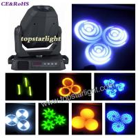 China 14CH IP20 60W / 75W LED Moving Head Light DMX512 With LCD Display wholesale