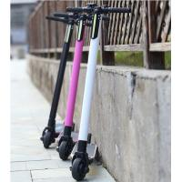 250W 24V Carbon Fiber Electric Scooter , Mini Portable Electric Bike Two Wheel Manufactures