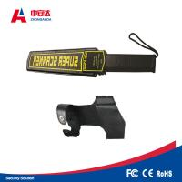 Fast Speed Metal Detector Scanner Two Alarm Modes For Hotel / Jewelry Factory Manufactures