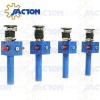 Durable and Stability JTC10 10kn cast iron Mini Screw Jack for lifting with hand wheel for table lifting Manufactures