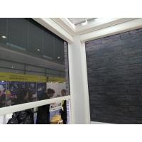 Sunscreen Heavy Duty Ziptrak Blind , Exterior Roller Shades Customized Size Manufactures