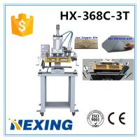 China HX-368C/D-3T Pneumatic hot stamping , embossing ,creasing, adjustable Stamping pressure, temperature and speed on sale