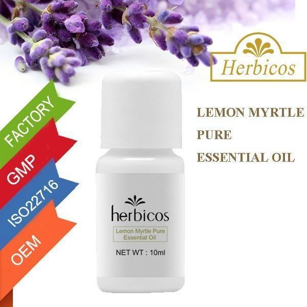 Quality Lemon Myrtle Pure Essential Oil / Body Massage Oil For Women 10ml for sale