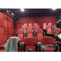 Electric Cylinder 9 Seats 5D Movie Theater System With Safe Package Build In Park Manufactures