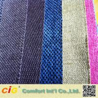 Woven Technics Jacquard Chenille Upholstery Fabric With Multicolor Manufactures
