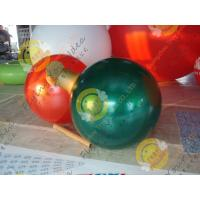 Christmas Decoration Custom Shaped Balloons Eye - Catching Mirror 0.25mm Pearl Color Manufactures