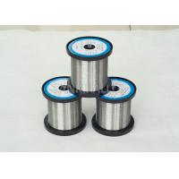 China NiCr6015/ N6 / chromel C / Inalloy 60 0.1mm Diameter Nicr Alloy Wire Used For Resistor on sale