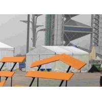 White 6m x 6m Large Commercial Tents With Double PVC Coated Fabric Covers Manufactures