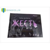 Glossy Finished Clear Window Laminated Plastic Bags Packaging 80 Micron Thickness Manufactures