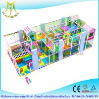 China Hansel popular candy theme soft play center kids outdoor playhouse in the park on sale