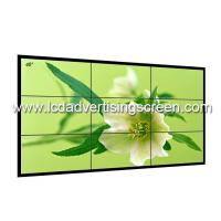 3.5mm Lcd Video Wall LG LCD Splicing Screen With Ultra-Narrow Side Stitching Manufactures