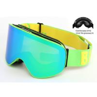 Interchangeable Lens Multi Coloured Ski Goggles Anti - Winds With Good Protection Manufactures