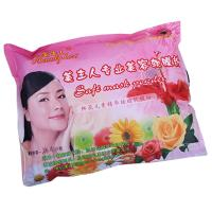 Facial Mask Powder Fresh Flower Essence , Brightening Skin Care Facial Mask Manufactures