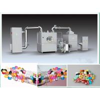 High Efficiency Peanut Tablet Coating Machine 316 Stainless Steel With Air Filter Manufactures