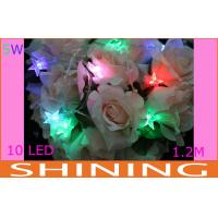 1.2m 4.5V Battery Operated LED String Lights 50000h Long Life ROHS Approved Manufactures