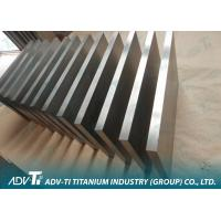 Hot Rolled Titanium Metal Plate Manufactures