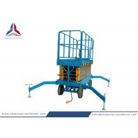 500kg Load Capacity Battery Powered Mobile Scissor Lift Platform Manufactures