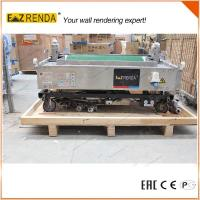 Quality 70 - 80 M²/Hour Portable Automatic Rendering Machine No Worm Pump for sale