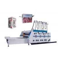 3 / 4 Color Flexo Printing Machine Carton Box Printing And Slotting Machine Manufactures