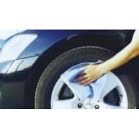 China Microfiber car cleaning towels on sale