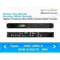Digital Satellite Receiver DVB-C DVB-S2 DVB-T2 Input  ASI IP output support CAM Manufactures