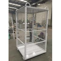 W1060 * D1060 * H1800 Grey Wire Mesh Security Cage For Cylinder